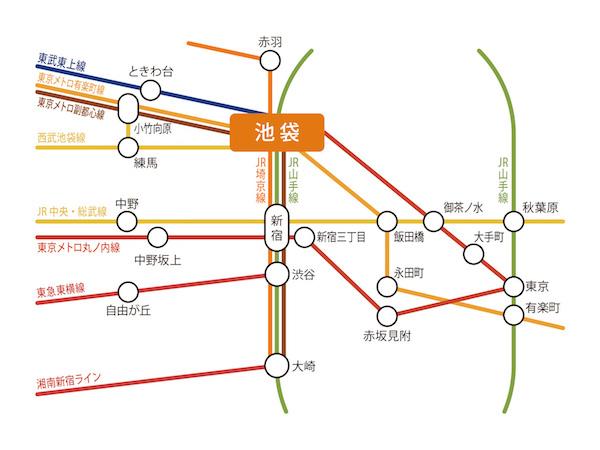 池袋_路線図