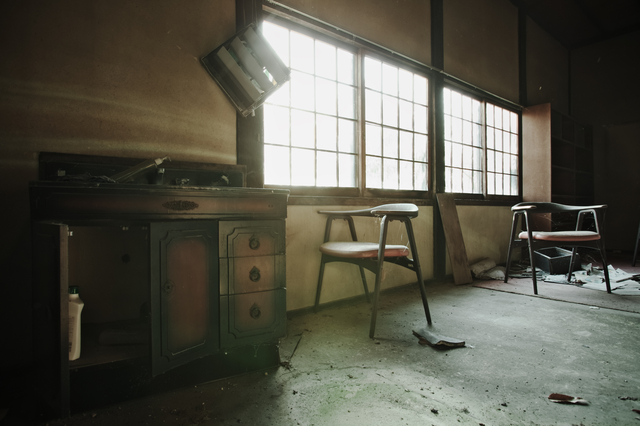 誰もいなくなった部屋