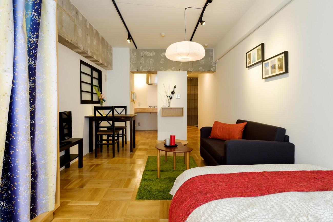 新富町 Airbnb物件 リノベ