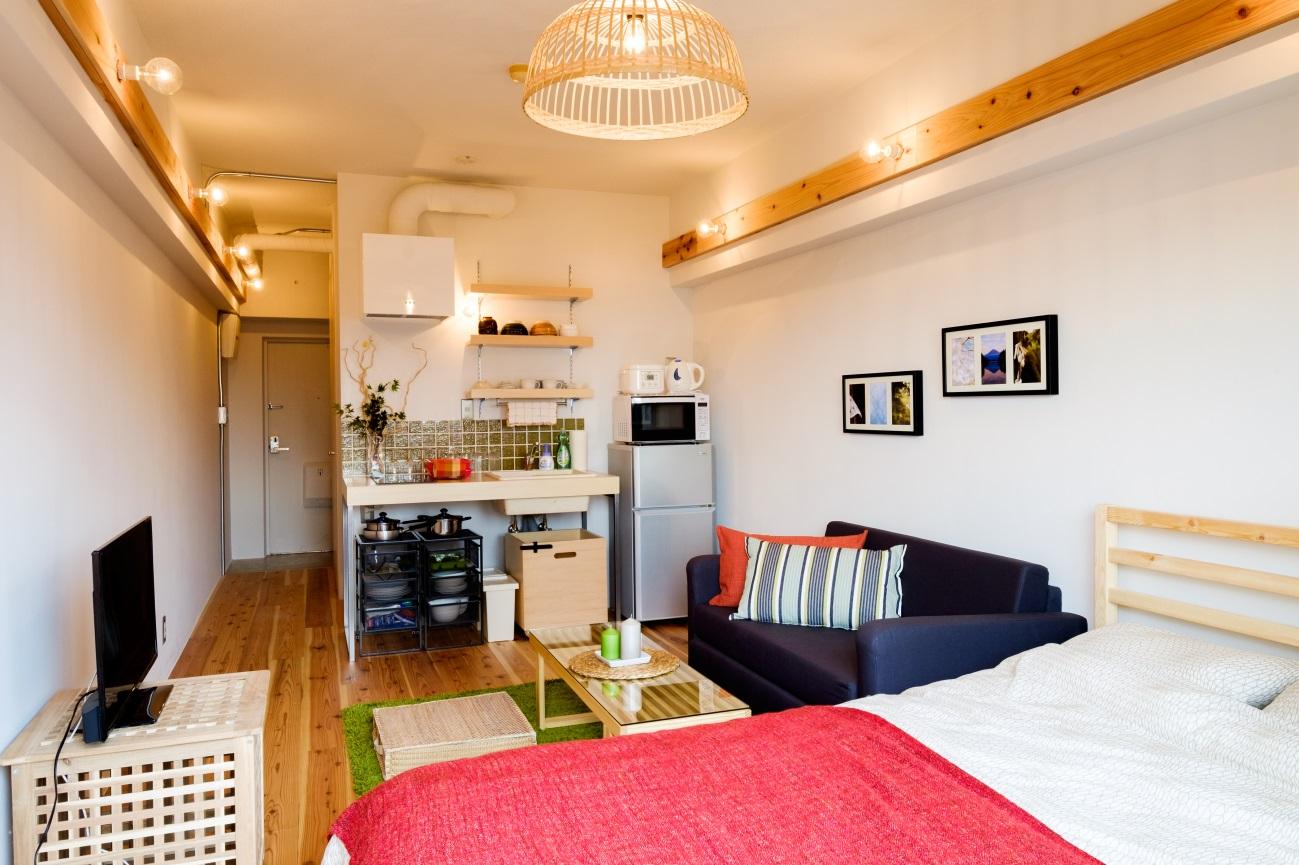 新宿 Airbnb物件 リノベ