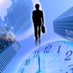 ビジネスマンと不動産業界