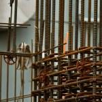 工事現場の鉄