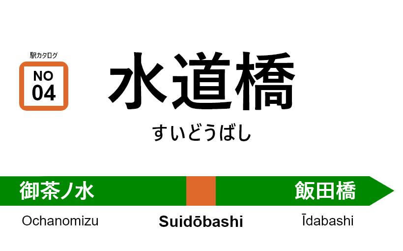 中央線(快速) – 水道橋駅|駅カタログ2018