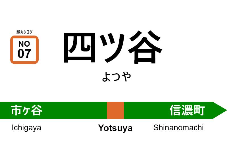 中央線(快速) – 四ツ谷駅|駅カタログ2018