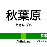 山手線 – 秋葉原駅|駅カタログ2018