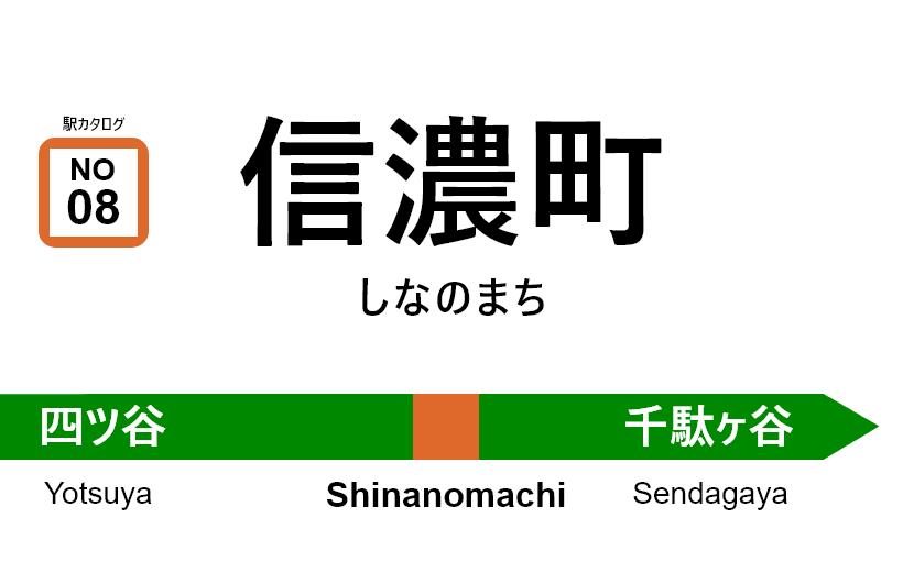 中央線(快速) – 信濃町駅 駅カタログ2018