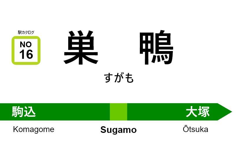山手線 – 巣鴨駅|駅カタログ2018