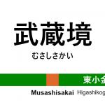 中央線(快速) – 武蔵境駅|駅カタログ2018