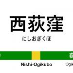 中央・総武線 – 西荻窪駅 駅カタログ2018