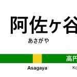 中央・総武線 – 阿佐ヶ谷駅|駅カタログ2018