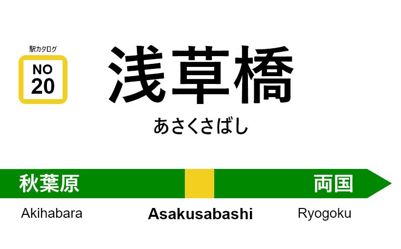 中央・総武線 – 浅草橋駅 駅カタログ2018