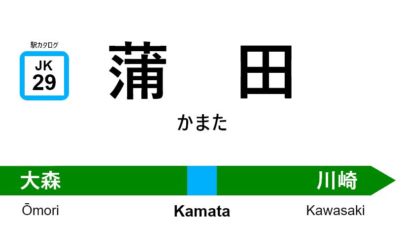 京浜東北線 – 蒲田駅|駅カタログ2018