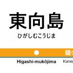 東武伊勢崎線 – 東向島駅|駅カタログ2018