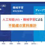 人工知能(AI) ・ 機械学習による不動産の賃料推計