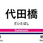 京王線 – 代田橋駅|駅カタログ2018