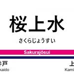 京王線 – 桜上水駅|駅カタログ2018
