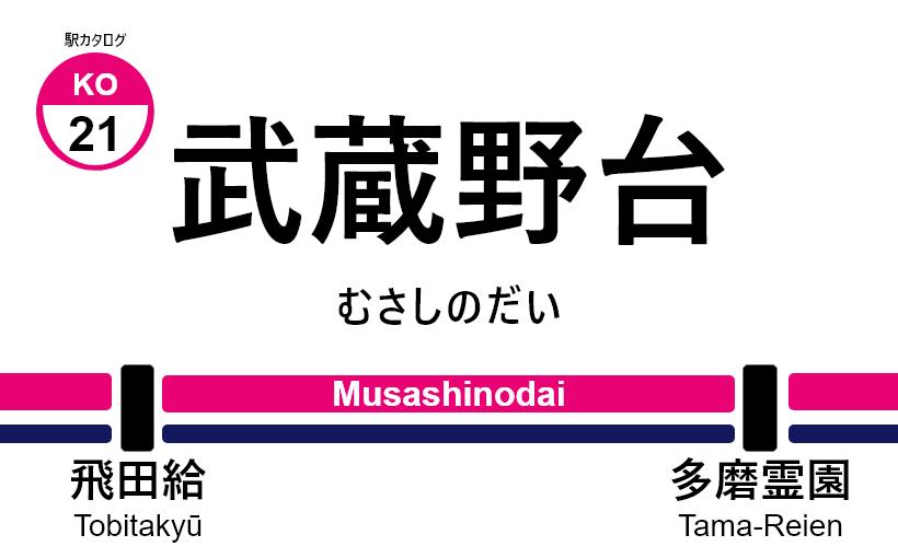 京王線 – 武蔵野台駅 駅カタログ2018