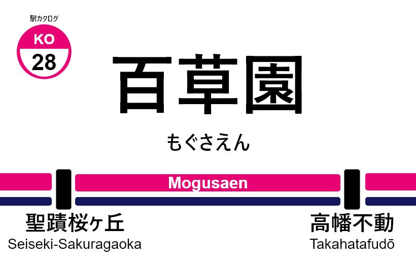 京王線 – 百草園駅|駅カタログ2018
