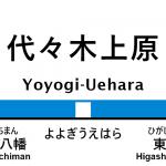 小田急線 – 代々木上原駅 駅カタログ2018