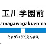 小田急線 – 玉川学園前駅|駅カタログ2018