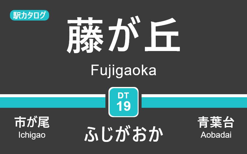 東急田園都市線 – 藤が丘駅 駅カタログ2018