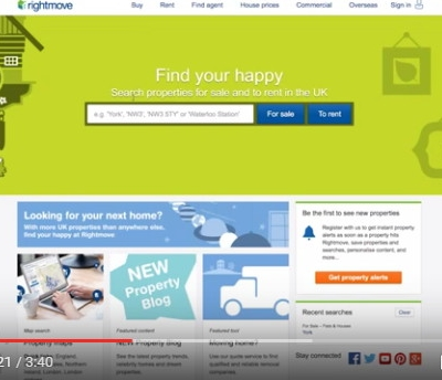 【動画】イギリス最大の不動産ポータル「Rightmove」