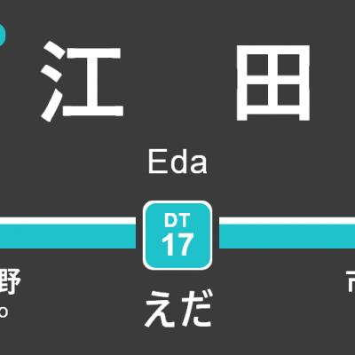 東急田園都市線 – 江田駅|駅カタログ2018